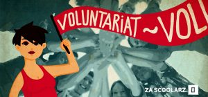 Voluntariat ilustrație Za scoolarz