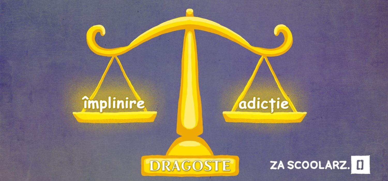 dragoste vs adicție